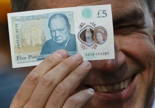 Les véganes britanniques écoeurés par leur nouveau billet de cinq livres