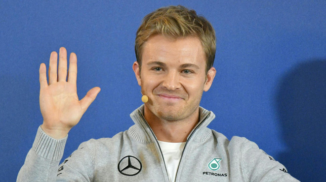 Wehrlein soutenu par Rosberg