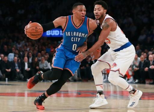 NBA - Oklahoma City: Westbrook égale Jordan