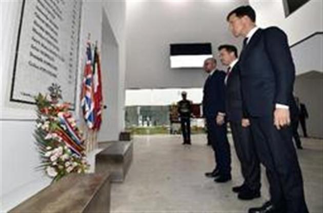 Xavier Bettel en Tunisie Visite conjointe des trois Premiers ministres du Benelux