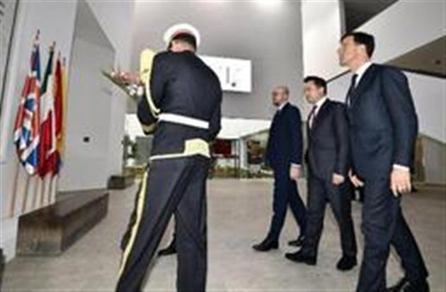 Soutien affiché des Premiers ministres du Benelux à la Tunisie