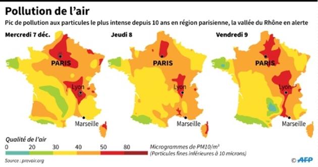 Circulation alternée vendredi à Lyon et Villeurbanne — Pollution