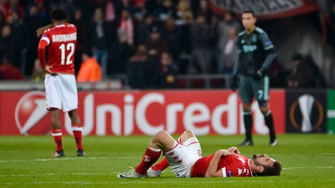 Europa League- le Standard éliminé malgré un dernier match au courage contre l'Ajax (vidéo) 1