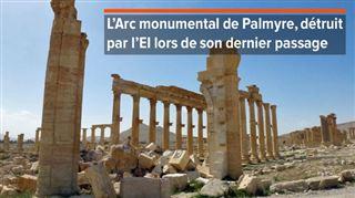 Syrie- l'Etat islamique est à nouveau entré dans la ville antique de Palmyre