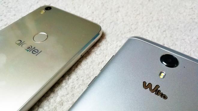 Ces deux smartphones affichent un look 'premium' mais coûtent moins de 250€: que valent le Wiko uFeel Prime et l'Alcatel Shine Lite ?