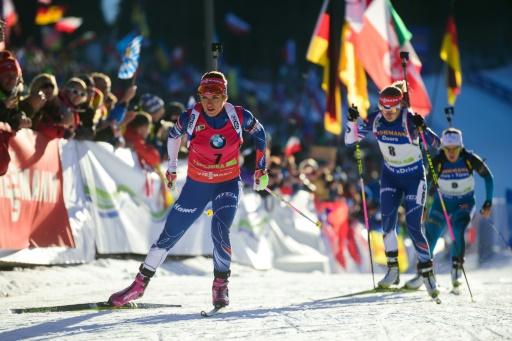 Biathlon/Nove Mesto - Sprint dames: victoire d'Akimova, Anaïs Chevalier 2e