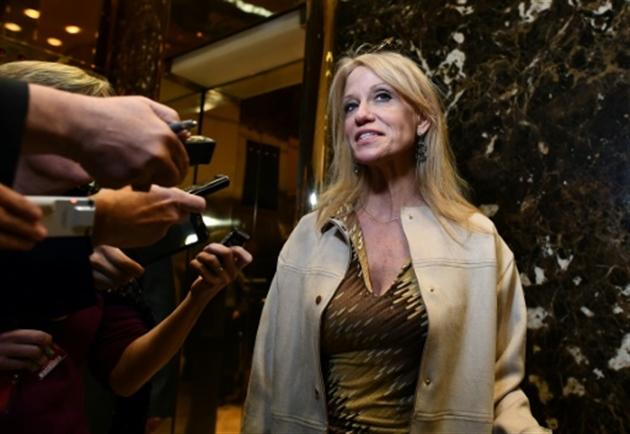 Kellyanne Conway nommée à la Maison Blanche