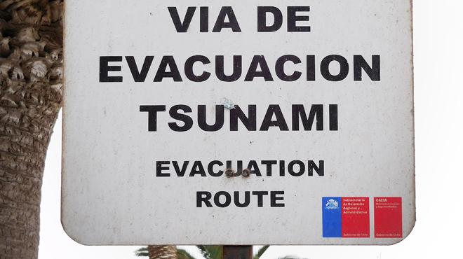 Séisme de magnitude 7,7 dans le sud — Chili