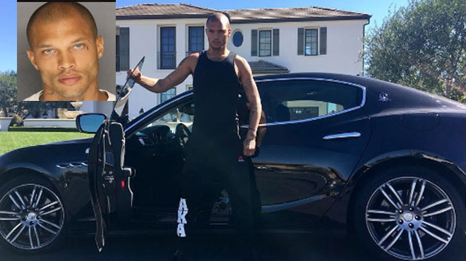 Jeremy Meeks, le gangster sexy, est devenu un riche mannequin