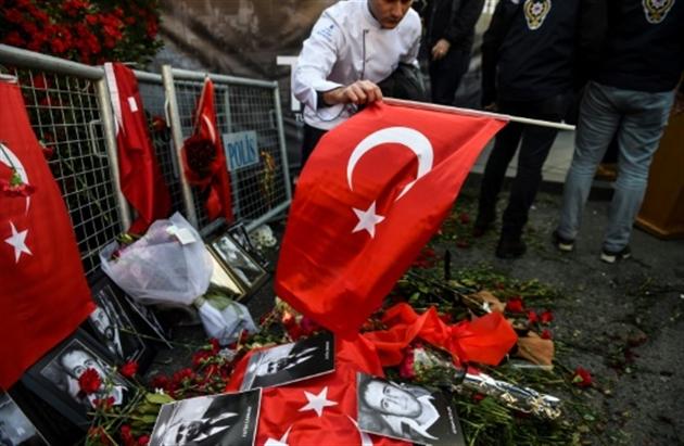 La police turque publie les premières photos du tueur du Reina — Istanbul