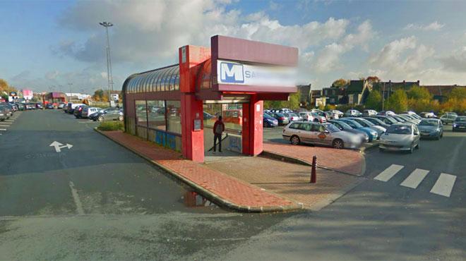 Des jeunes qui fumaient dans le métro de Charleroi se rebellent face aux vigiles: 7 agents blessés et emmenés à l'hôpital