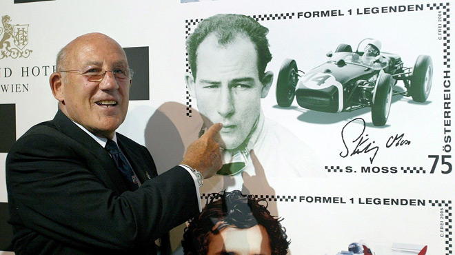 F1: Stirling Moss hospitalisé pour une infection respiratoire