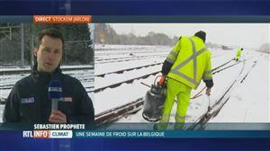 """Froid, neige… Voici tout ce qu'Infrabel met en place pour """"permettre la circulation des trains par tous les temps"""""""