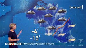 Météo: jusqu'à -15°C cette nuit en Ardenne