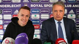 Trebel officiellement présenté par Anderlecht- J'ai été bien accueilli par les supporters