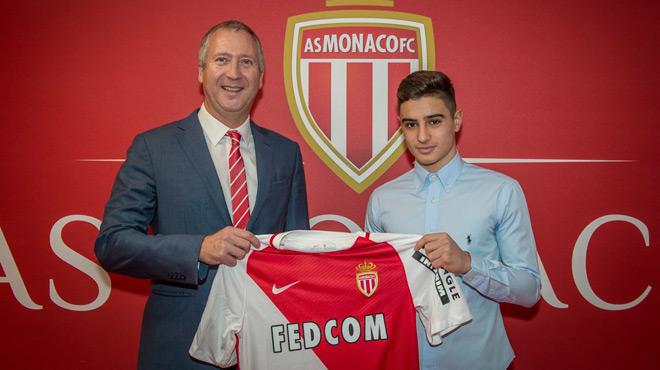 La pépite Antonucci a signé (off.) — Monaco