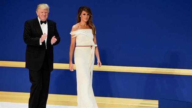 La robe de Melania Trump est... française