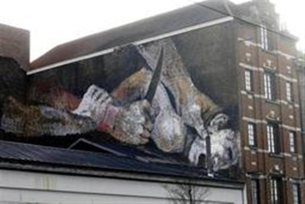 Nouvelle fresque de rue bruxelles la ville ne fera for Nouvelle peinture murale