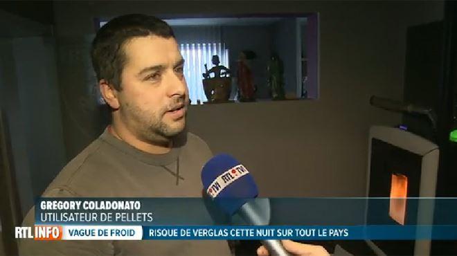 Grégory fait partie des nombreux Belges à se chauffer avec des pellets- mais est-ce vraiment plus économique que le gaz ou le mazout? 1