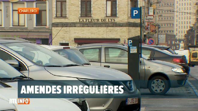 Malaise à Charleroi- les redevances infligées aux automobilistes qui ne paient pas le parking sont illégales 1