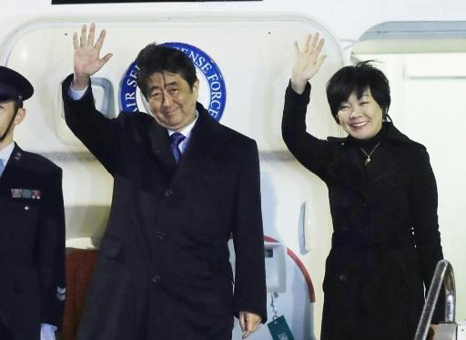 Trump et Abe jouent la diplomatie du golf — USA-Japon