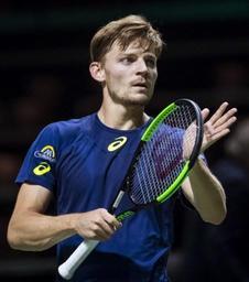 ATP Rotterdam - David Goffin qualifié pour les quarts de finale, en trois sets face à Robin Haase