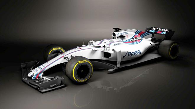F1: Williams dévoile les premières images de sa nouvelle monoplace 2017 (vidéo)