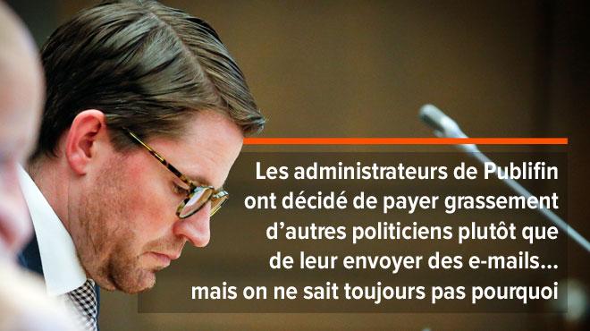 Commission d'enquête parlementaire : André Gilles était absent !