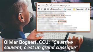 STUPEUR- Eric découvre que les accès à sa boîte email sont rendus publics sur un mystérieux site internet 4