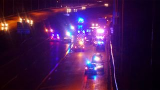Drame sur l'A54 ce soir- une personne qui déambulait sur l'autoroute a été mortellement fauchée 2