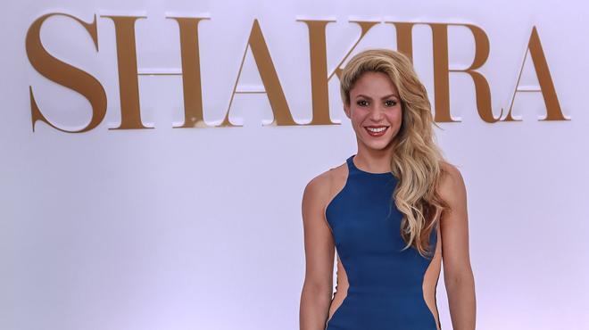 Elle change de look pour Black M — Shakira