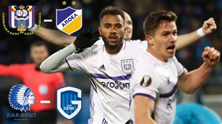 ll y aura au moins un club belge en quart de finale de l'Europa League- Anderlecht affronte Nicosie tandis que La Gantoise reçoit Genk ! 3