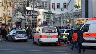 Attaque en Allemagne- une voiture fonce sur des passants et fait un mort 2