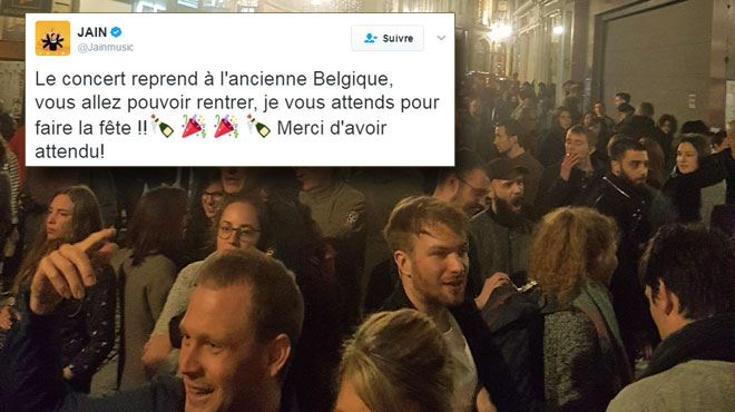 Évacuation de l'Ancienne Belgique après une alerte à la bombe- les spectateurs ont finalement pu regagner la salle (vidéos) 1