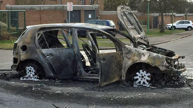 Evasion à la prison de Lantin- deux voitures incendiées, un détenu en fuite 1