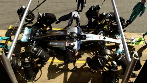 F1: Bottas et Vettel dominent la 3e journée d'essais de Barcelone