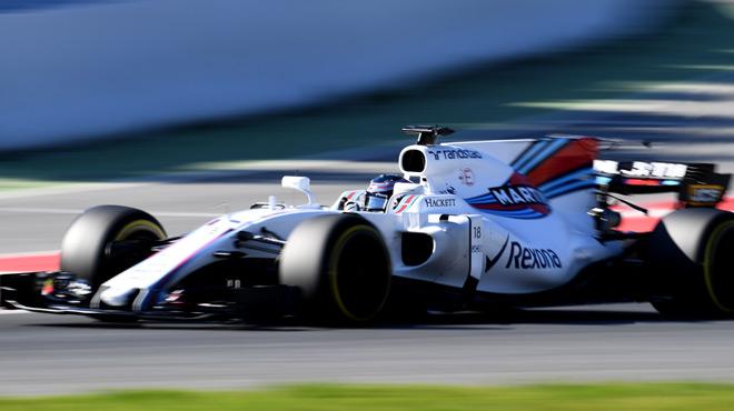 F1: l'écurie Williams interrompt ses essais à Barcelone