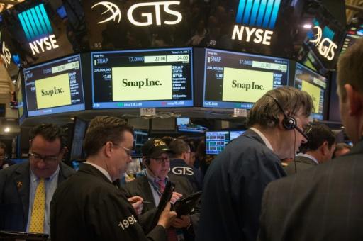 Snap entre en bourse valorisée à 24 milliards de dollars