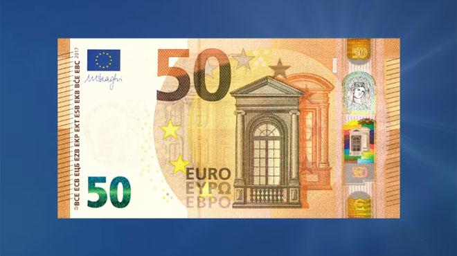 Préparez-vous au nouveau billet de 50 euros — Paiement / Zone euro