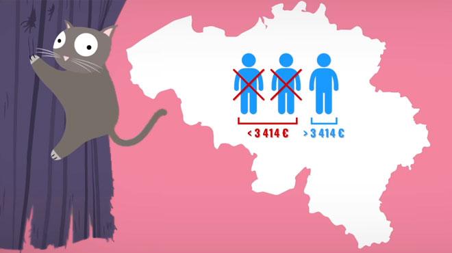 Non, le travailleur moyen ne gagne pas 3414€ bruts par mois: pourquoi cette statistique a fait s'étrangler de nombreux Belges?