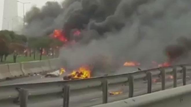 Un hélicoptère s'écrase, 5 morts dont des Russes — Istanbul