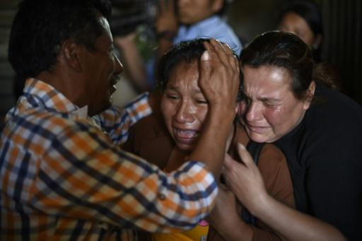 Guatemala 36 adolescentes mortes dans un incendie selon un nouveau bilan
