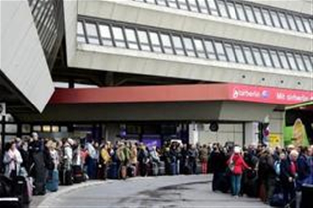 Nouvelle grève prévue lundi dans les aéroports berlinois