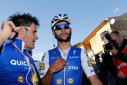 Tirreno-Adriatico: le Colombien Gaviria devance Sagan et Stuyven, Quintana toujours leader