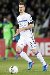 Jupiler Pro League - Uros Spajic signe à Anderlecht jusqu'en 2021