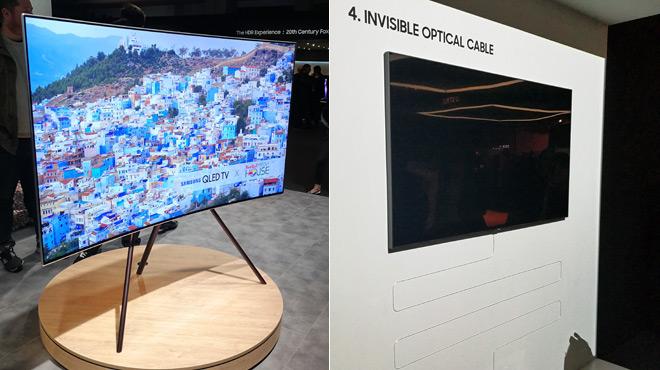 La course aux pixels est enfin terminée: le plus gros avantage de cette TV, c'est son câble unique et transparent