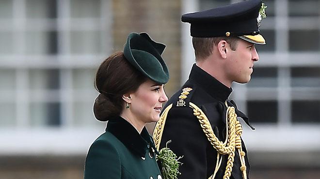 Première sortie officielle pour le Duc et la Duchesse de Cambridge après le week-end en Suisse du Prince William entouré de top-modèles australiennes