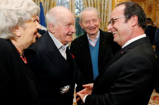 Michel Bouquet, François Hollande, une décoration et quelques allusions