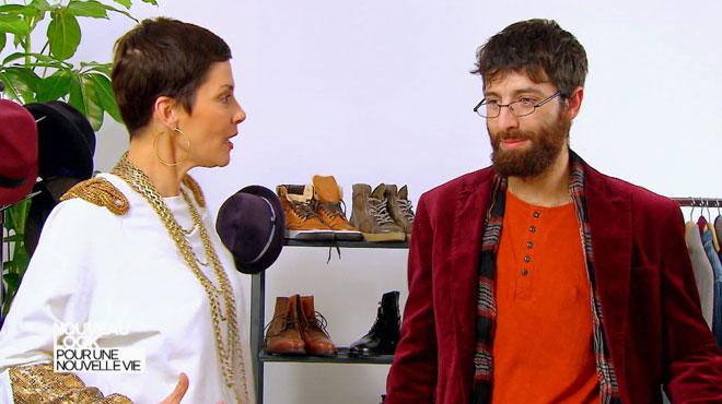 Cristina Cordula s'énerve contre Michel qui n'aime rien de ce qu'elle lui propose: