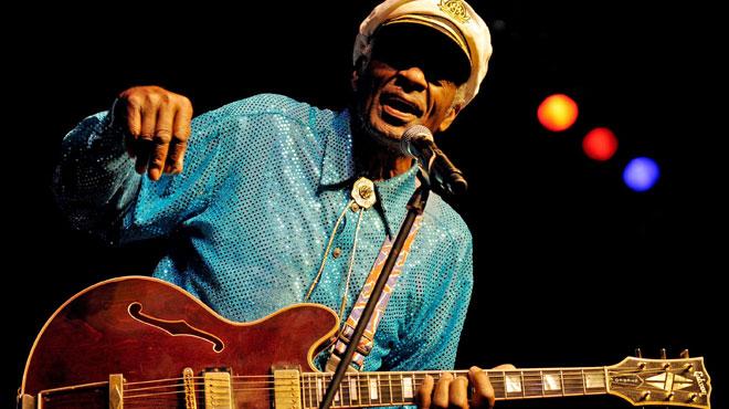 Les stars réagissent au décès de Chuck Berry: